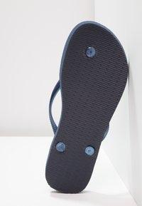 Havaianas - SLIM - Pool shoes - dark blue - 5