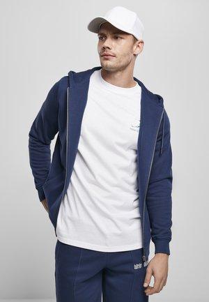 TERRY - Zip-up sweatshirt - darkblue