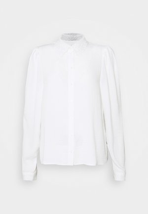 VMWIGGA COLLAR - Button-down blouse - snow white
