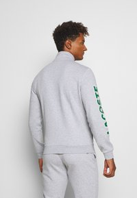 Lacoste Sport - TRACKSUIT - Tracksuit - silver chine/green/white - 3