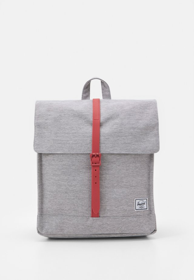 CITY MID-VOLUME UNISEX - Tagesrucksack - grey/dusty cedar