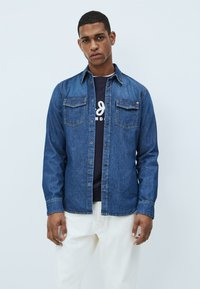 Pepe Jeans - HAMMOND DARK - Shirt - denim - 0