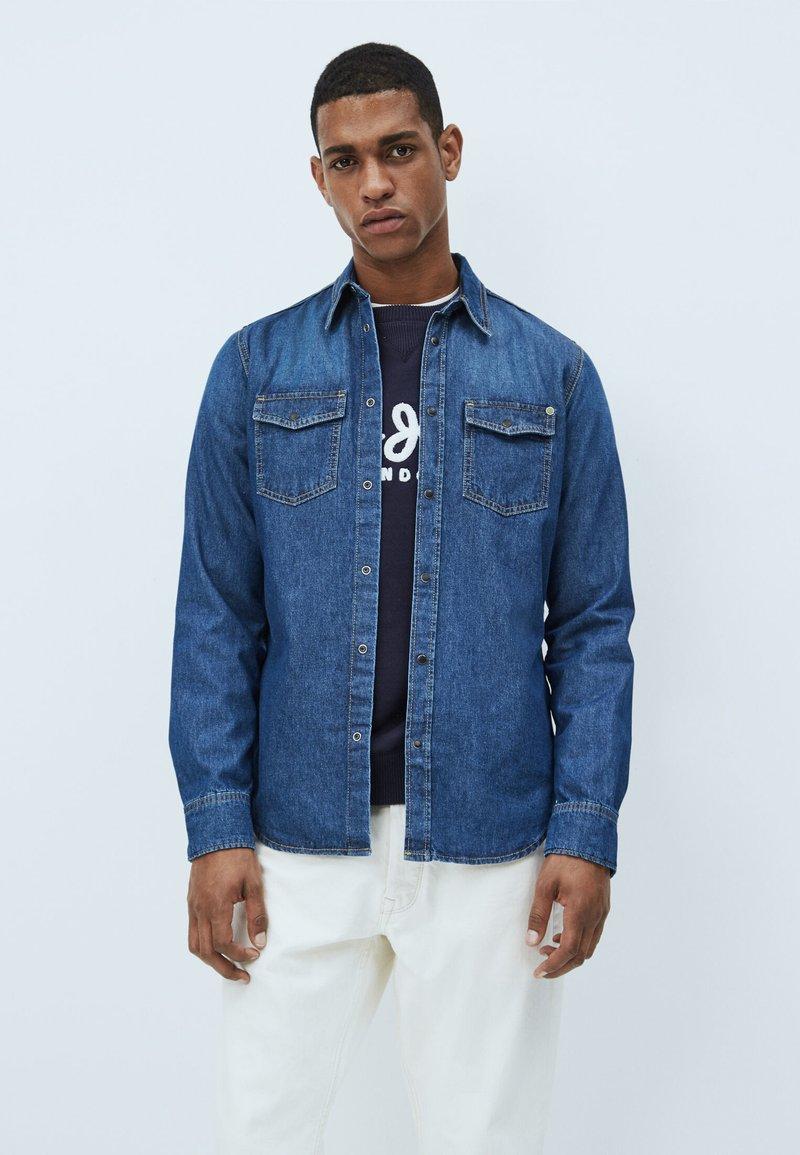 Pepe Jeans - HAMMOND DARK - Shirt - denim