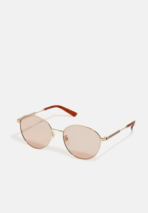 Sunglasses - gold-coloured/orange