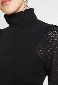 Fashion Union - HARDY - Stickad tröja - black - 5
