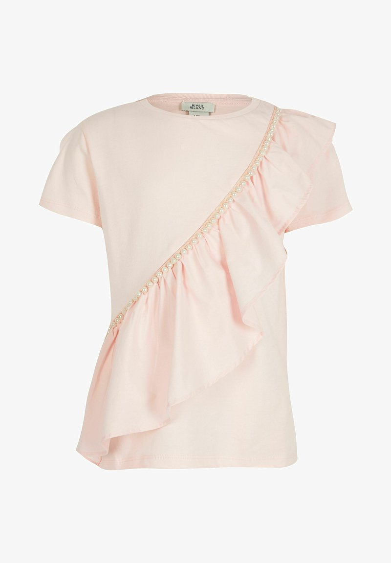 River Island - Print T-shirt - pink