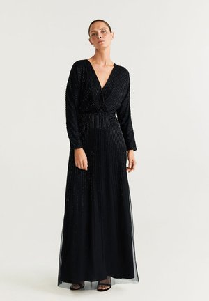 IRENE - Robe longue - black