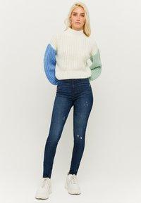 TALLY WEiJL - Jeans Skinny Fit - dark-blue denim - 1