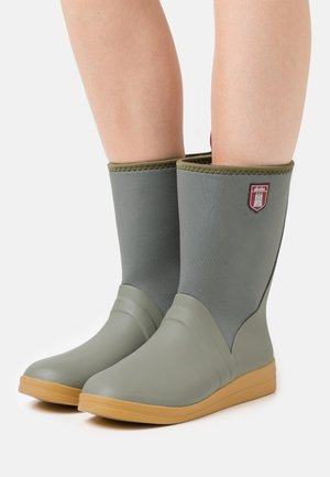 SHIETWEDDERBOTTEN  - Wellies - vetiver