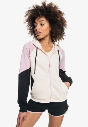 Zip-up sweatshirt - tapioca