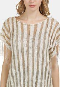 usha - Print T-shirt - wollweiss - 3