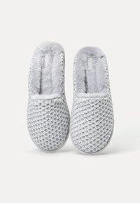 OYSHO - CHENILLE  - Slippers - grey - 3