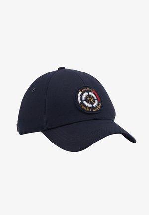 ROUND PATCH  - Cap - blue
