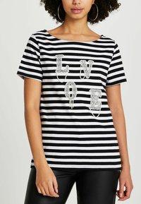 River Island - LOVE  - Print T-shirt - black - 0