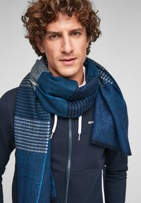 s.Oliver - Scarf - dark blue stripes - 3