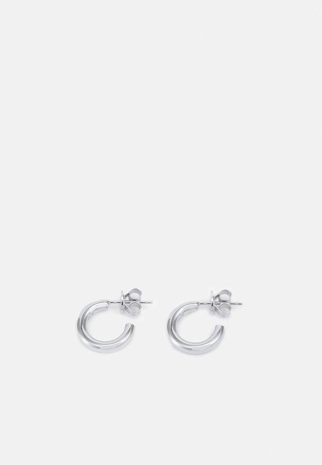 MINI CLOUD - Orecchini - silver-coloured