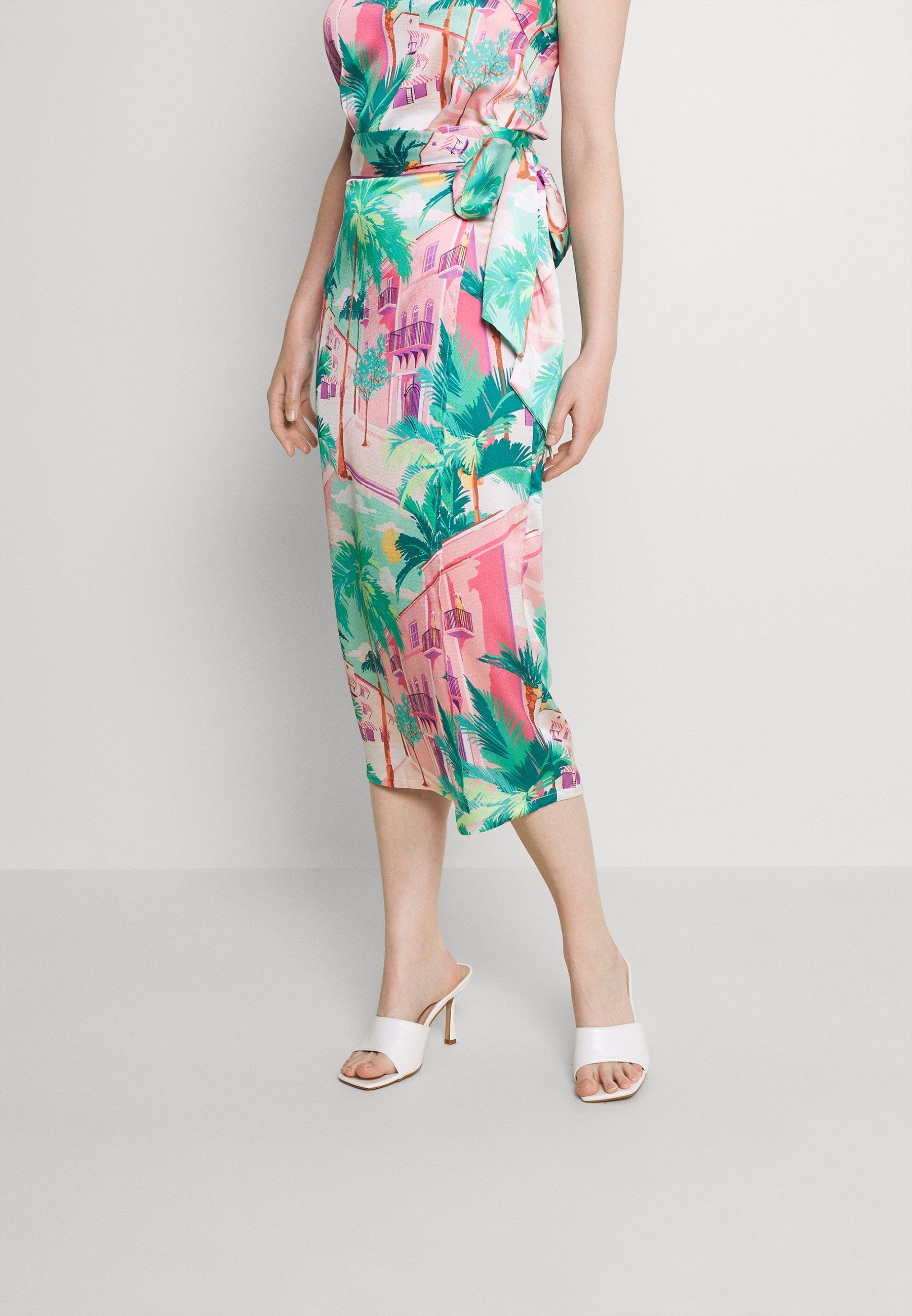 Women SUMMER RAINBOW JASPRE - Wrap skirt