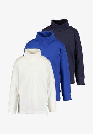 BASICS - Sweater - offwhite ocean nacht