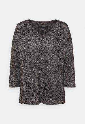 VMBRIANNA V-NECK  - Svetr - dark grey melange