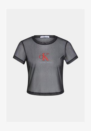 BABY TEE - Print T-shirt - black