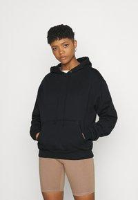 Good American - BOYFRIEND HOODIE - Sweatshirt - black - 0