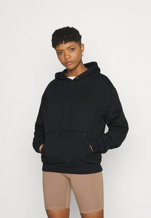 BOYFRIEND HOODIE - Sweatshirt - black