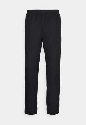TENNIS PANT TAPERED - Pantaloni sportivi - black/white