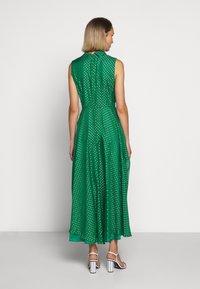 LK Bennett - DR CONNIE - Maxi šaty - emerald green/ivory - 2