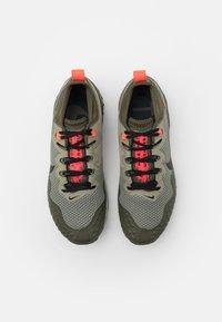 Nike Performance - WILDHORSE 7 - Trail running shoes - light army/black/cargo khaki/bright crimson/sequoia/light bone - 3