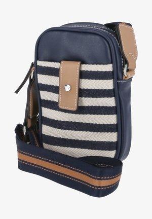Across body bag - blau.kombi