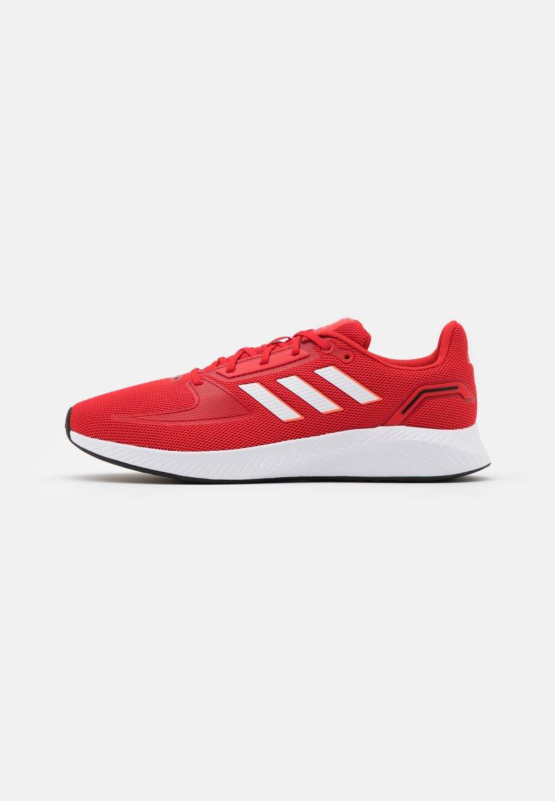 adidas Performance - RUNFALCON 2.0 - Neutrala löparskor - vivid red/footwear white/solar red