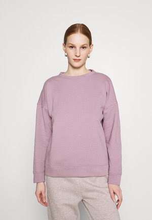 JDYLINE LIFE CREW NECK - Sweatshirt - elderberry