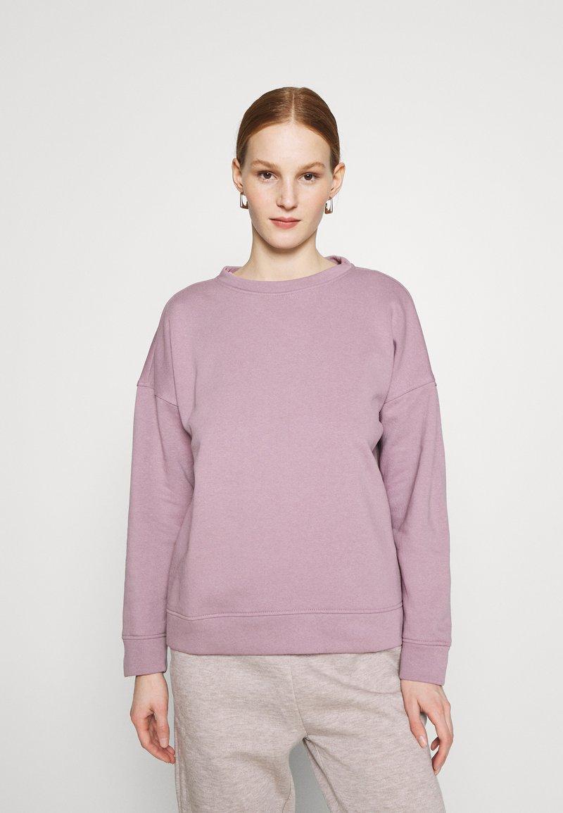 JDY - JDYLINE LIFE CREW NECK - Sweatshirt - elderberry