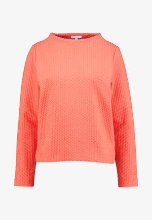 GALVANA - Sweatshirt - fresh coral