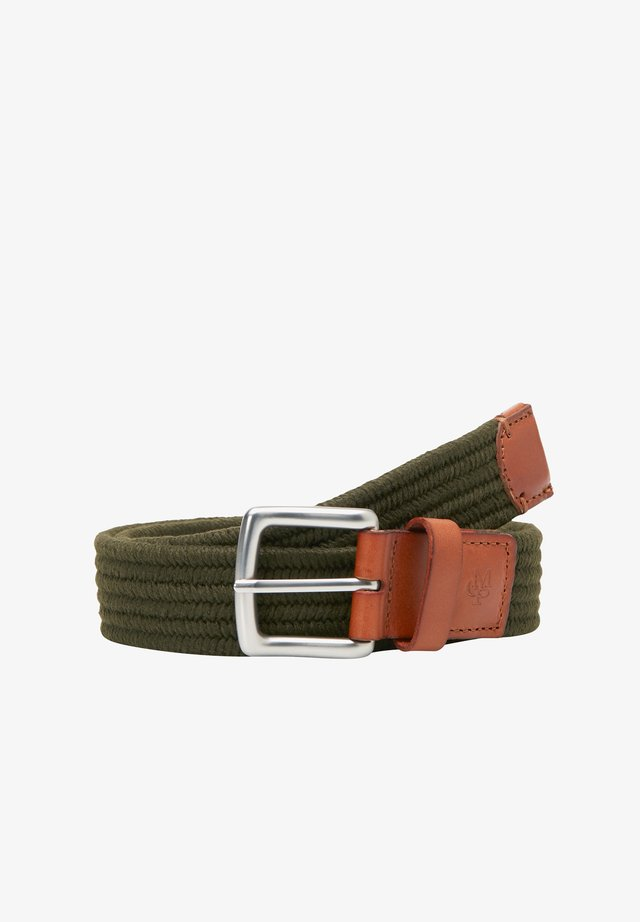 GÜRTEL IN FLECHTOPTIK - Belt - olive green