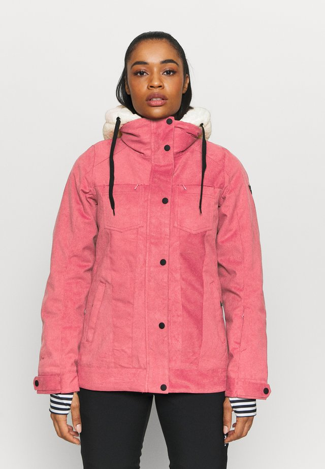 TESSA WOMEN SNOWJACKET - Snowboardová bunda - pink grape