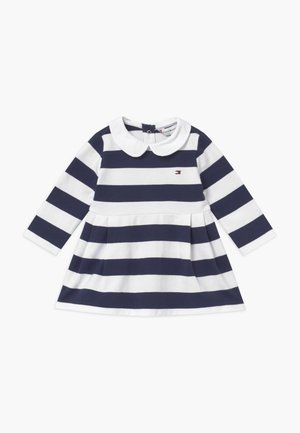 BABY RUGBY STRIPE - Day dress - blue