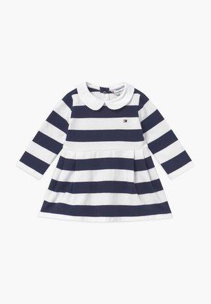 BABY RUGBY STRIPE - Robe d'été - blue