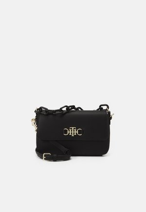 CLUB FLAP CROSSOVER - Handbag - black