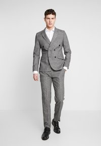 Shelby & Sons - KIRKHAM SUIT DOUBLE BREASTED  - Suit - grey - 1