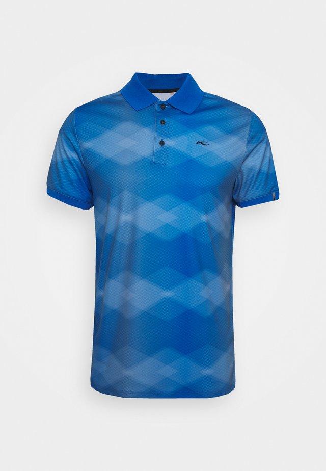 SPOT PRINTED - Polo shirt - motion blue