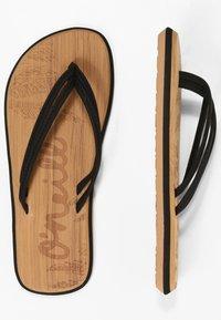 O'Neill - T-bar sandals - blackout  a - 2