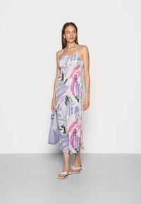 IN THE STYLE - SYD & ELL BLUSH ABSTRACT PRINT SPLIT DRESS - Cocktailkjole - multicoloured - 1