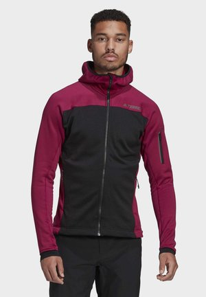 STOCKHORN FLEECE HOODED - Zip-up hoodie - purple