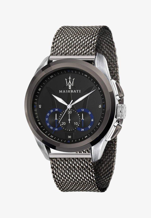 TRAGUARDO  - Chronograph watch - black