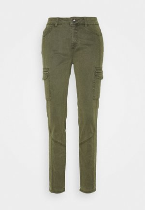 LANG - Jeansy Slim Fit - green