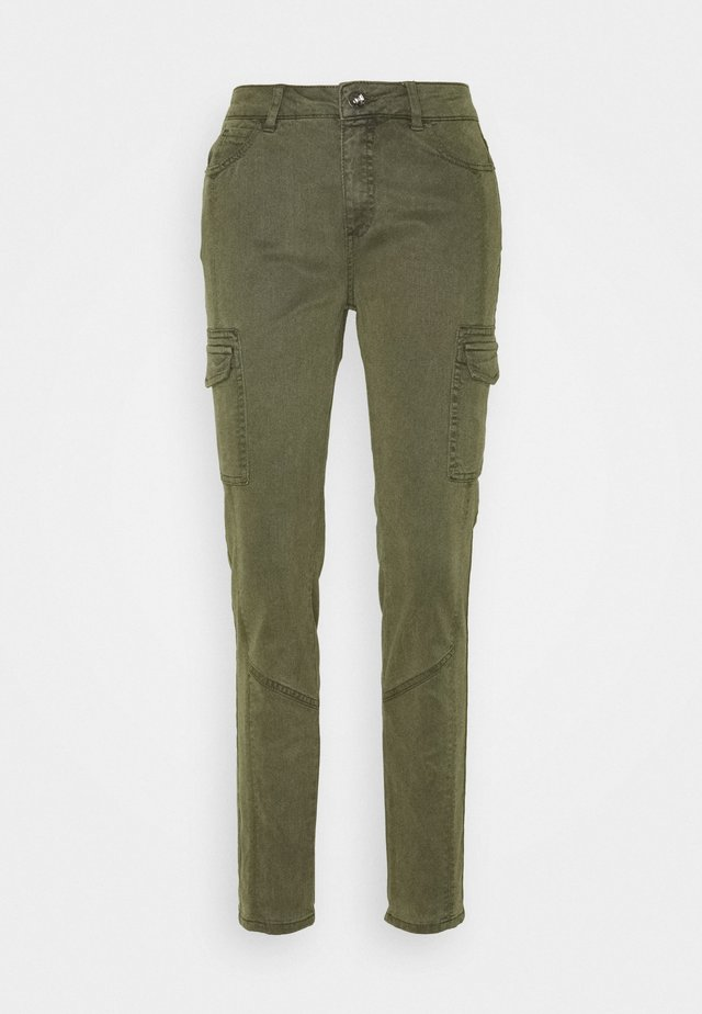 LANG - Jeans slim fit - green