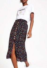 River Island - A-line skirt - black - 1