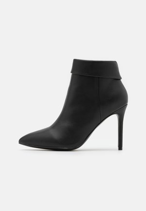 AMBROSE - High heeled ankle boots - black