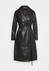 Missguided Petite - Trenchcoat - black - 0